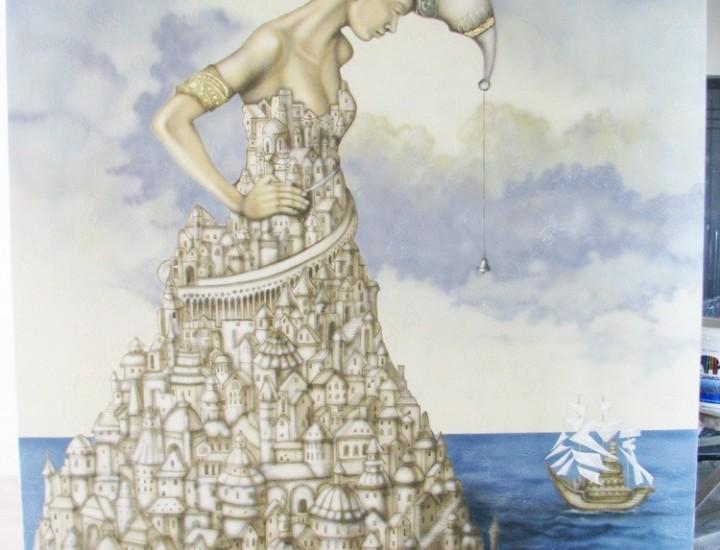 Рельеф — «Белые паруса»