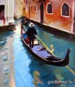 Венеция (36х30) двп, масло