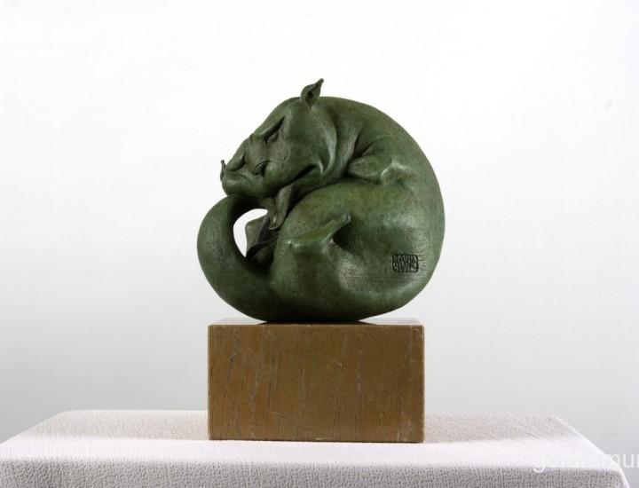Скульптура — Мартовский кот