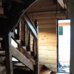 баня лестница