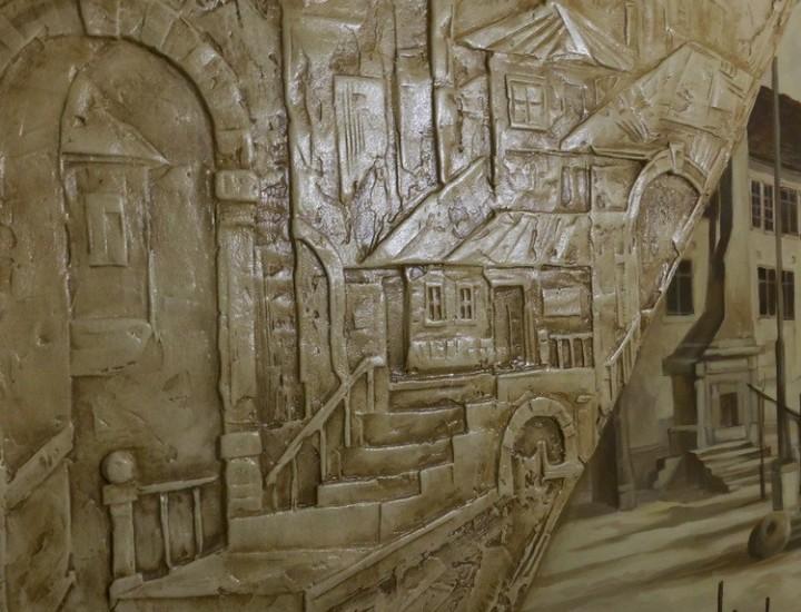Рельеф — Старый город