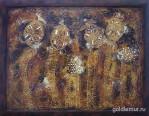 15.cherepahi-Igamunda-otklady-vayut-yajtsa-2005g.-60h80-holst-akril.