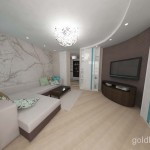 2 перспектива гостиной цветовое решение 1