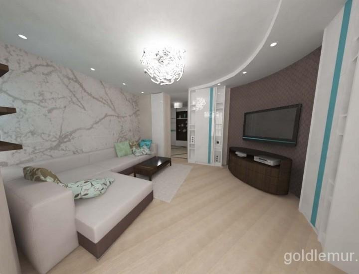 Дизайн квартиры — Многомерный интерьер