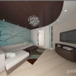 3 перспектива гостиной цветовое решение 2