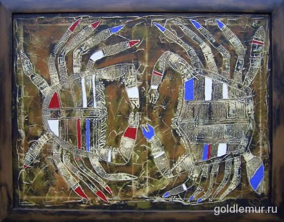 5.On-i-ona-v-vide-krabov-2004g.-60h80-holst-akril