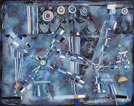 64.-Rozhdestvenskaya-skazka.-2011g.-70h90-holst-akril.