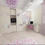 8 детская комната для принцессы вид 1
