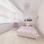 9 детская комната для принцессы вид 2