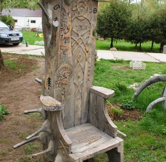 Авторские лавки, стулья и кресла ручной работы