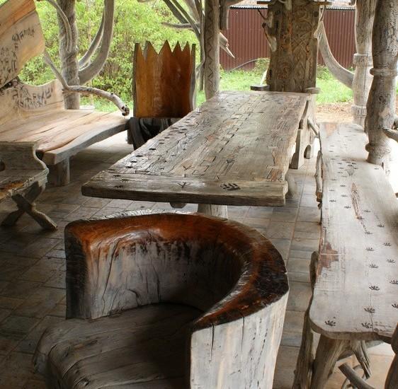 Авторская садовая мебель