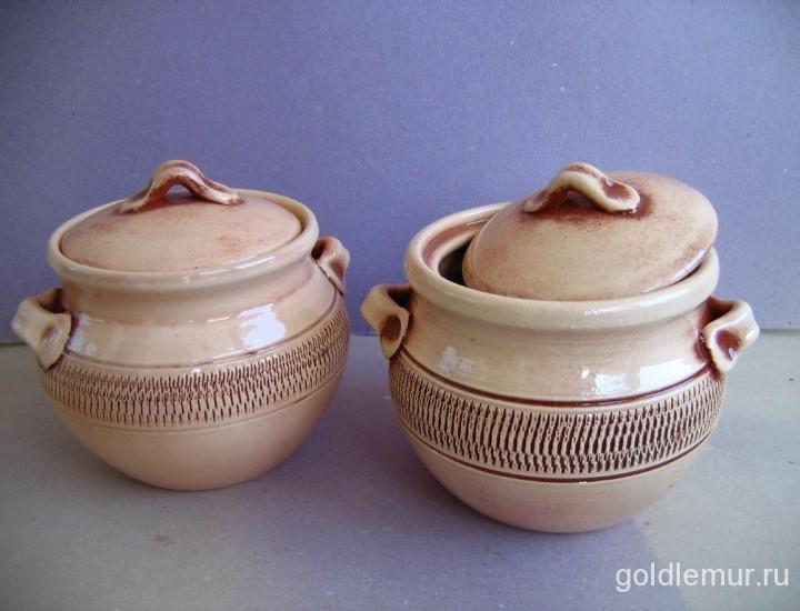 Горшочки для еды из керамики