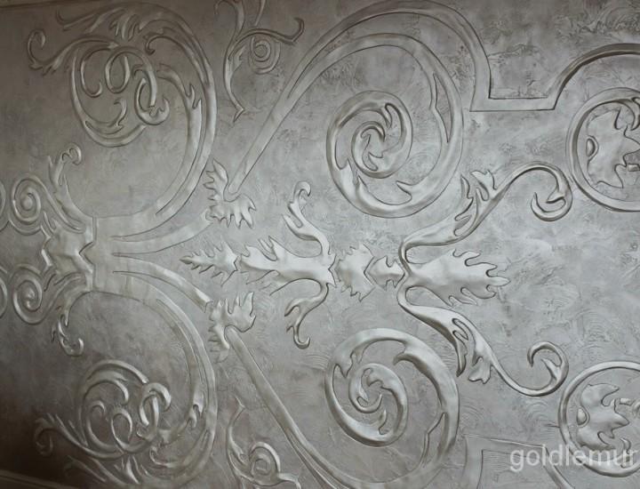 Декоративное орнаментальное панно