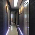Декоративная штукатурка - 60 оттенков серого в коридоре