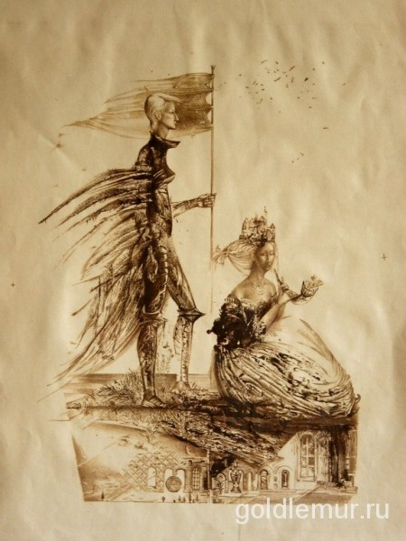Perekrestie.-litografiya-50h40sm
