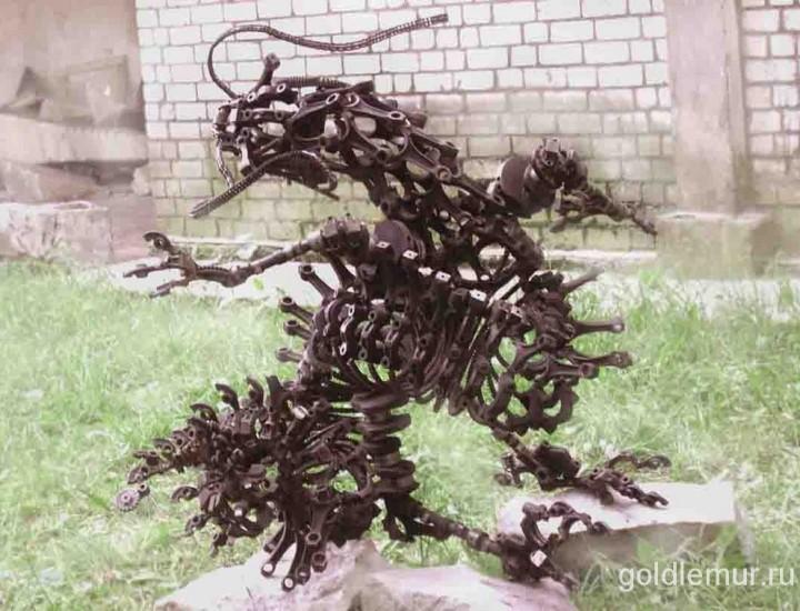 Скульптура — Дракон