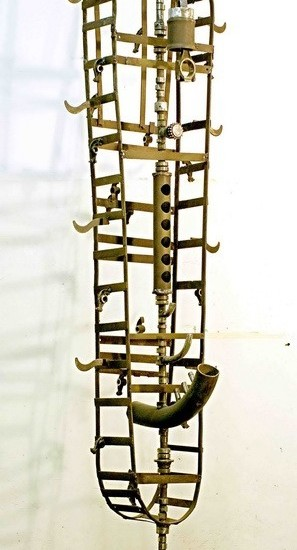 Скульптура — Флейтист