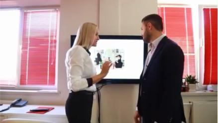 Дуэт Славы Нагорного и Леси Кодуш ищут дизайнерское решение для офиса своего event-агенства.